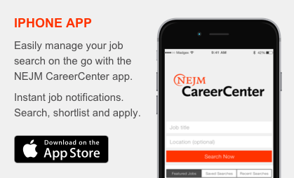 Download the NEJM CareerCenter iPhone App