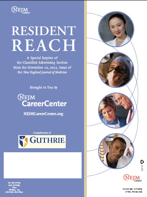 Nov Resident and Fellows Reach